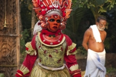Theyyam Photos - Ms.Rhea from Australia