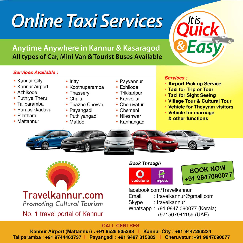 Travelkannur Call Taxi Services