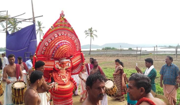 Aryapoonkanni Theyyam by Priyank