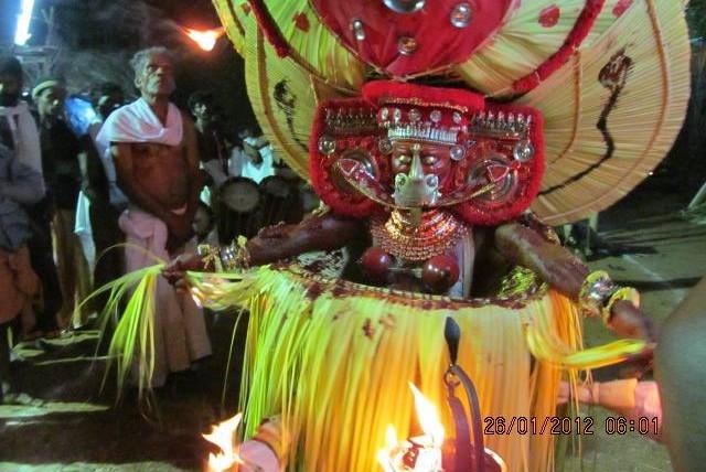 alada bhagavathy theyyam