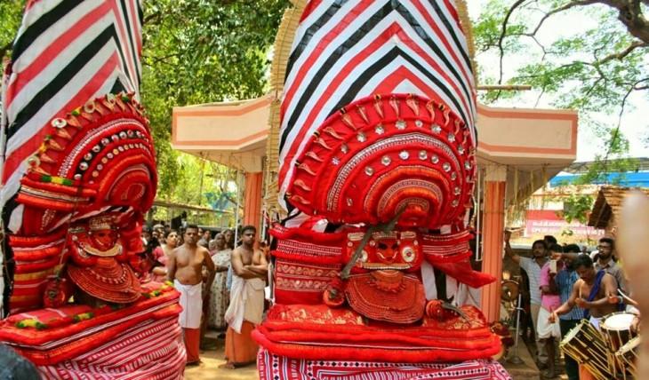 areekulangara bhagavathy and maanenkavil bhagavathy