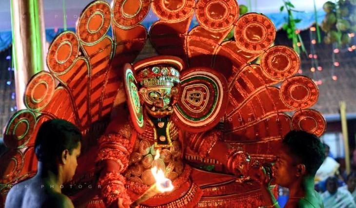 sasthappan theyyam