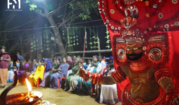 091_ayyappan theyyam
