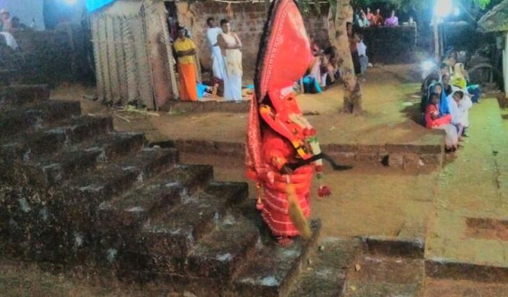 aaryakkara bhagavathy, perunthatta