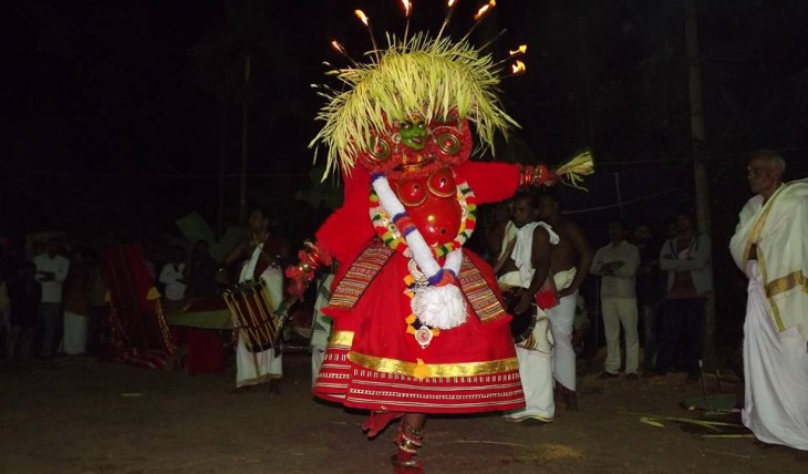 malamgkurathi theyyam nileshwar