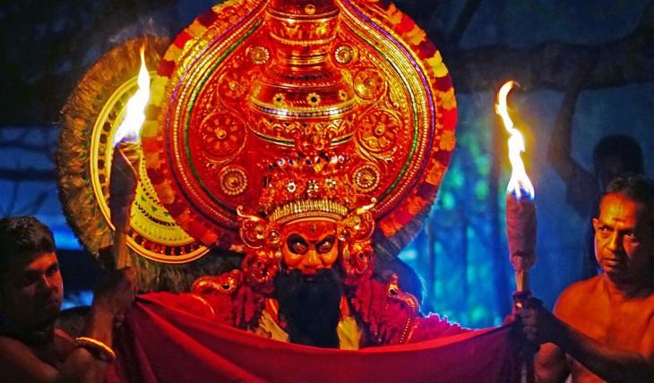 Agni Bhairavan,banam ponnam parambathu vishnumurthi kshethram