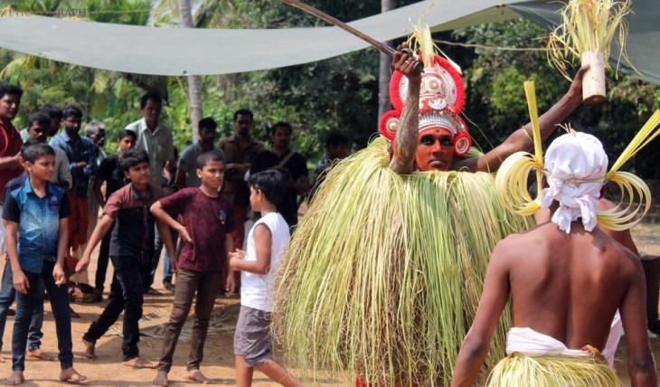 ucha bali theyyam